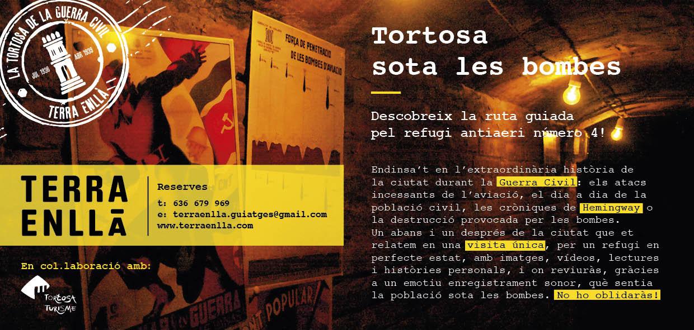 El Refugi Antiaeri N.4 de Tortosa