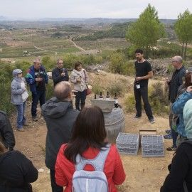 Frisach presenta un nou vi a la ruta  'Vins a la Trinxera' de la Festa del Vi de Gandesa