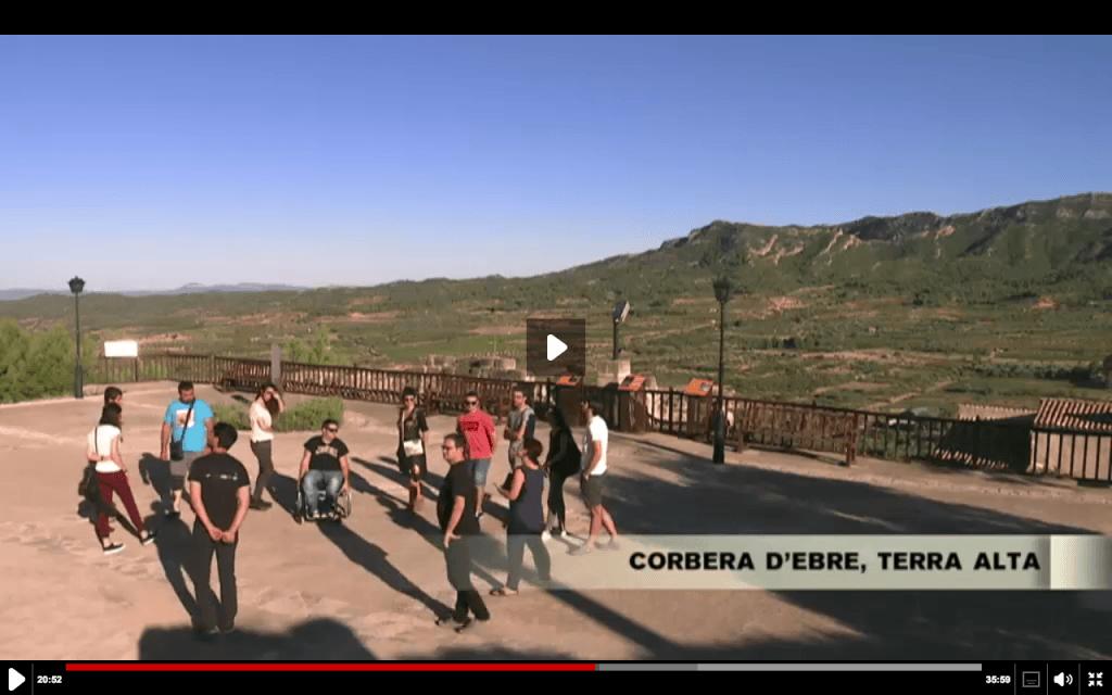 Vins a la Trinxera al programa 'Collita2015' del '30 Minuts' de TV3, novembre de 2015