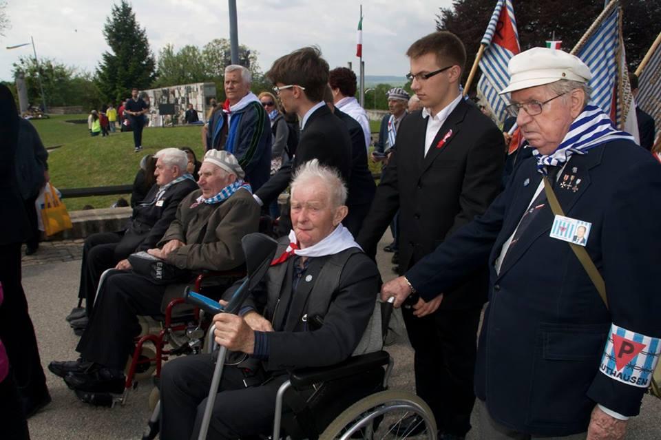 Delegació polonesa a la marxa internacional