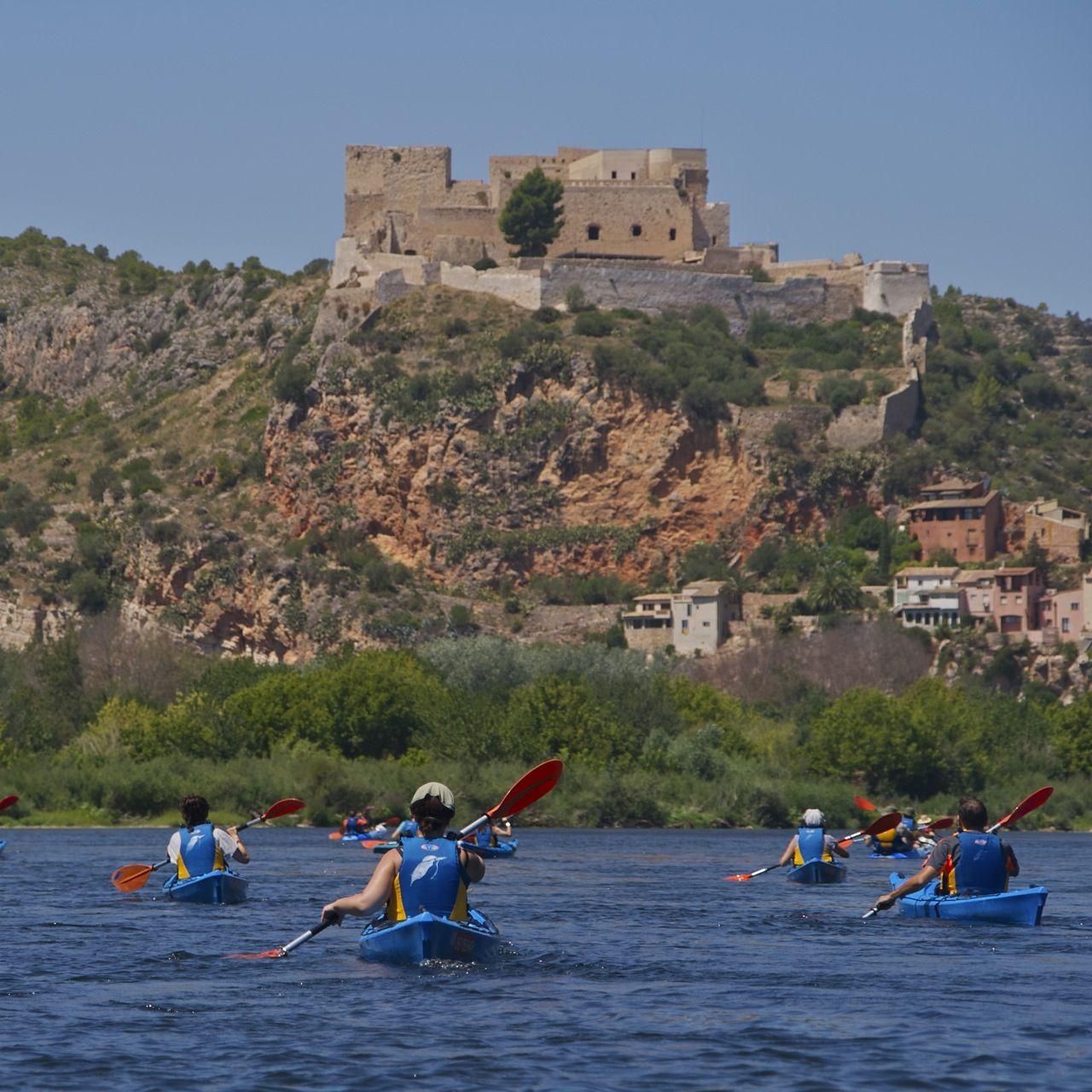 Ruta Kayak & Memory que fusiona la batalla del Ebro con la navegación por el Ebro.