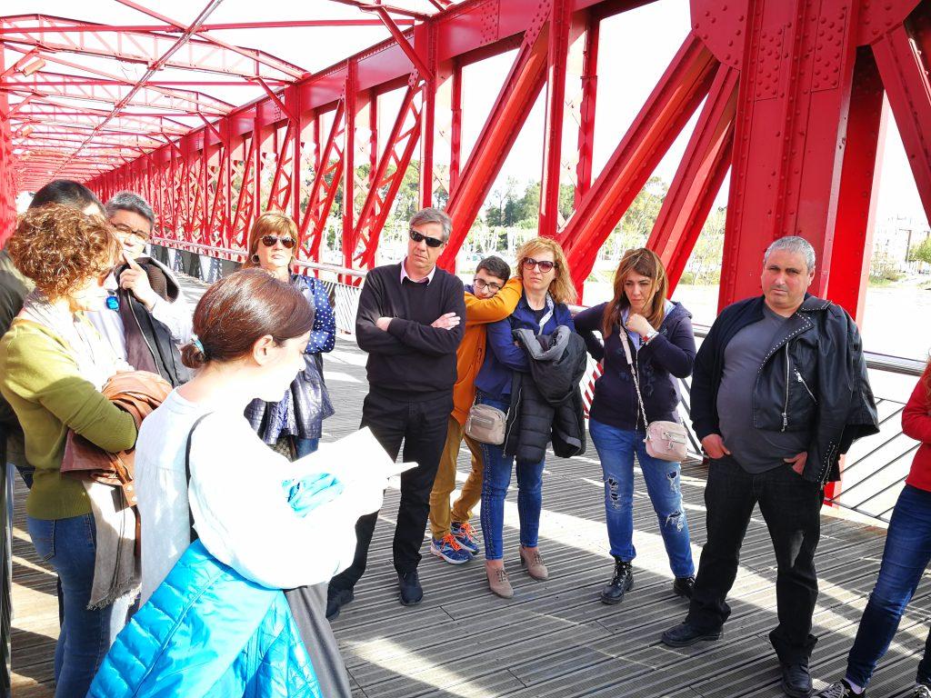 Ruta Ales Negres sobre Tortosa al pont roig. Foto: Terra Enllà