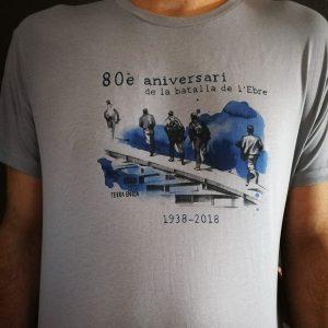 Camiseta. 80è aniversari de la batalla de l'Ebre