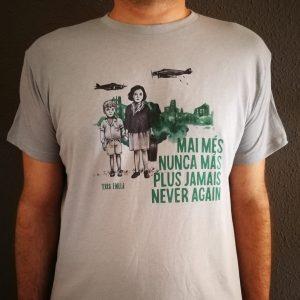 Camiseta. Refugiados