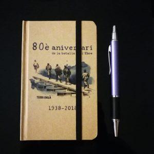 Libreta pequeña. 80è aniversari de la batalla de l'Ebre