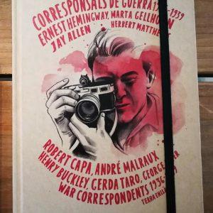 Libreta mediana. War Correspondents 1936-1939