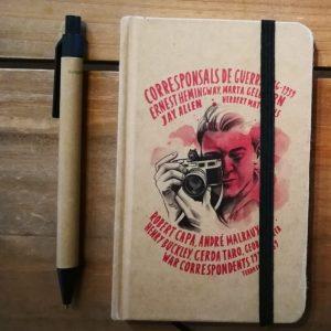 Libreta pequeña. War Correspondents, 1936-1939