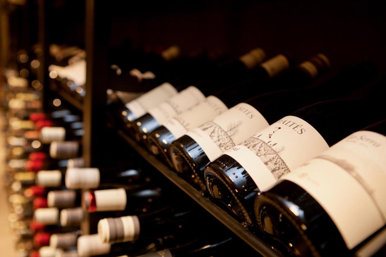 Detall dels vins d'Herència Altés. Foto: Herència Altés
