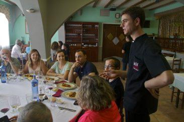 """Restaurant Miravall. Ruta: """"El secret dels brigadistes amb el restaurant Miravall""""."""